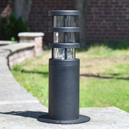 Modern Black Pillar Light