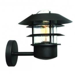 Modern Black Wall Light with Optional PIR Sensor