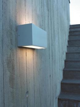 Modern Rectangular Flush Fix Wall Light