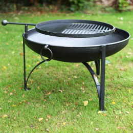 Iron Kadai Fire Bowl in the Size of 110 cm's