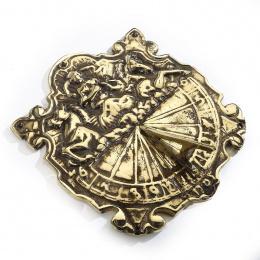 Ornate Antique Brass Sundial