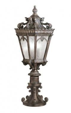 Ornate Antique Style Pillar Light