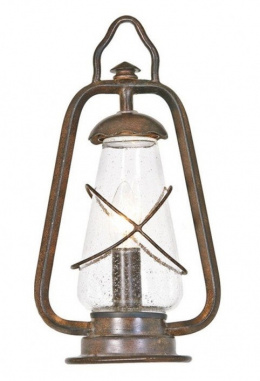 Pioneer Trail Search Lantern Inspired Rustic Garden Pillar Light