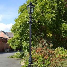 Used Ex-Display 2.7 Garden Lamp Post - Reclaimed