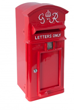 "Wall Mounted Slim ""George Rex"" Period Post Box"