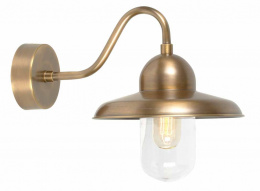 Retro Domed Coach House Wall Light