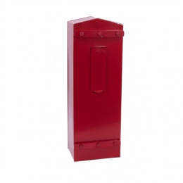 Red 'The Garthorpe' Gate or Fence Post Box