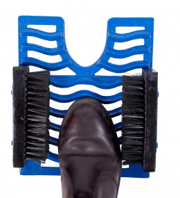 "Royal Blue ""The Trio"" Garden Boot Scraper, Brush and Jack"