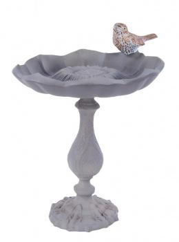 Gerbera Inspired Bird Bath