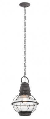 Rustic Zinc Railway Style Chain Hanging Lantern