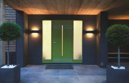 Modern Flush Fitting Wall Light
