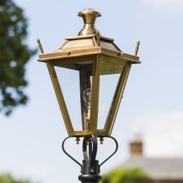 61cm Antique Brass Dorchester Lantern