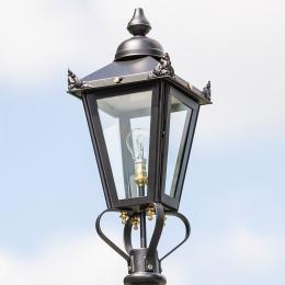 Small Black Victorian Lantern