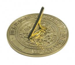 Engravable Brass Garden Sundial