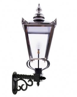 Stainless Steel Lantern and Royale Bracket Lighting Set