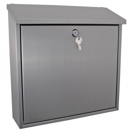 Stainless Steel Modern Wall Mounted Post Box