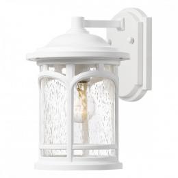 Standard White Finish Suspended Cylinder Wall Lantern