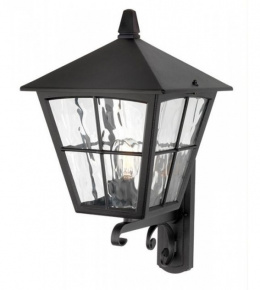 """The Churchtown"" Traditional Black Porch Lantern"