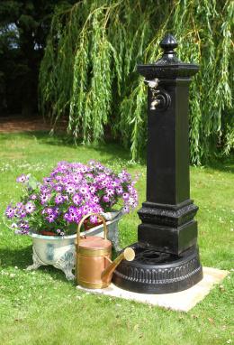 The Notre Dame Garden Water Faucet