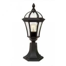 Ornate Venetian Style Pillar Post Light