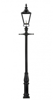 Large Cambridge Lamp Post Set 3.93m