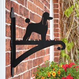 """""""Poodle"""" Garden Hanging Basket Bracket"""