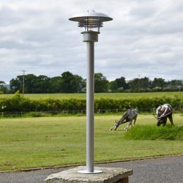 Stainless Steel Scandinavian Pillar Lamp Post
