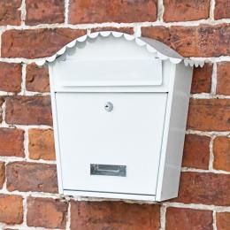 Traditional Wall Mounted Locking Post Box