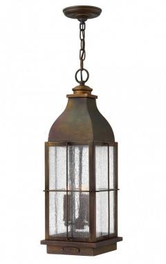 Vintage Design Solid Brass Chain Lantern