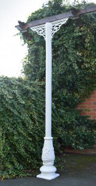 White Victorian Garden Veranda Support