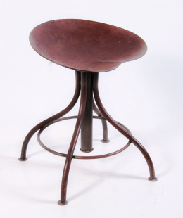 Saloon bar stool wrought iron