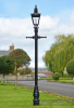 Stunning Kensington Garden Lamp Post In Black