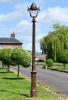 2.5m Antique Copper Victorian Gothic Cast Iron Lamp Post