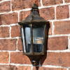 Antique Gold Flush Wall Lantern