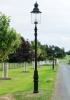 Belgravia lamp post lining a driveway