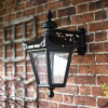 Black Top Fix Victorian Wall Lantern