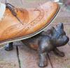 Cat floor boot scraper
