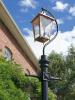 Swan Neck Lamp Post 2.46m