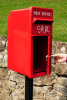 King George Rex Post Box Red