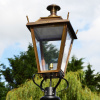 Medium Antique Brass Dorchester Lantern