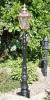 Ornate small Victorian lamp post