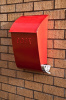 The Brixton Wall Mounted Post Box and Letter Holder