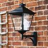 Simplistic Victorian Wall Light On Simplistic Mounting Bracket