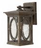 Textured Bronze Vintage Wall Lantern