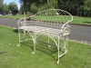The Arch Wrought Iron Bench