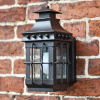 The Westcott Antique Wrought Iron Wall Light