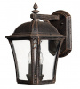 """The Whitsome"" Rustic Bronze Large Wall Lantern"