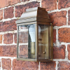 Traditional Antique Brass wall lantern