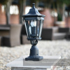 Traditional Black Pedestal Light