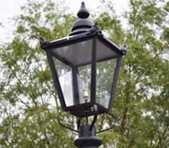 Victorian lamp posts